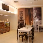 Coffee shop in the beautiful and renovated Patios de San Telmo hotel in Buenos Aires