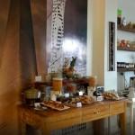 buffet breakfast in Hotel Patios de San Telmo restaurant. Buenos aires, argentina