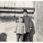 Gustavo y Carlos Samorano en el antiguo conventillo que ahora es el Hotel Patios de San Telmo