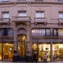 Fachada exterior del hotel Patios de San Telmo en el centro de Buenos Aires