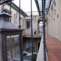 Detalle de farolillo en los patios de san telmo