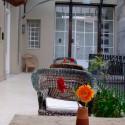Detalle de los patios del Hotel con encanto